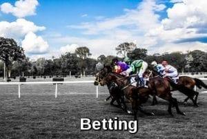 Betting in online casinos
