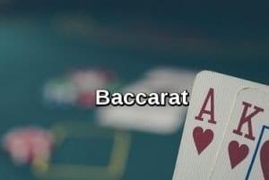 Casino games: baccarat