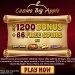 Casino Big Apple Bonuses
