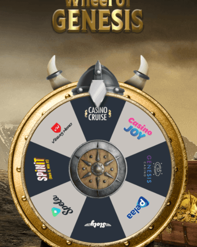 Try your luck at Wheel of Genesis