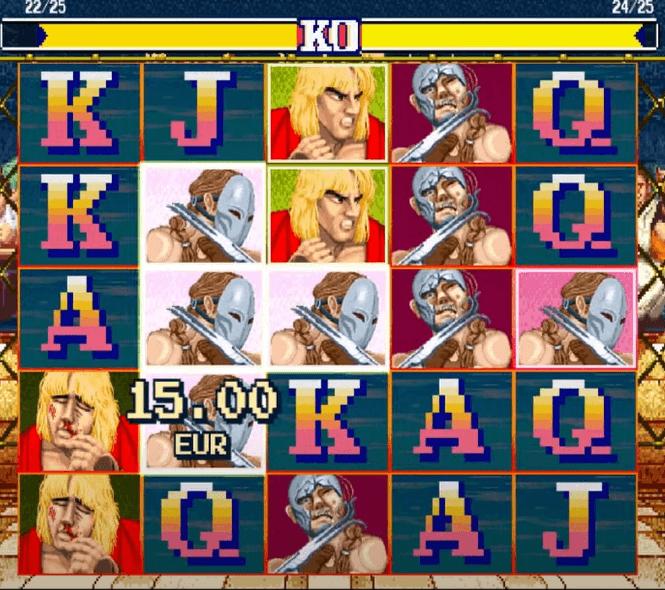 Street Fighter II Slot Design