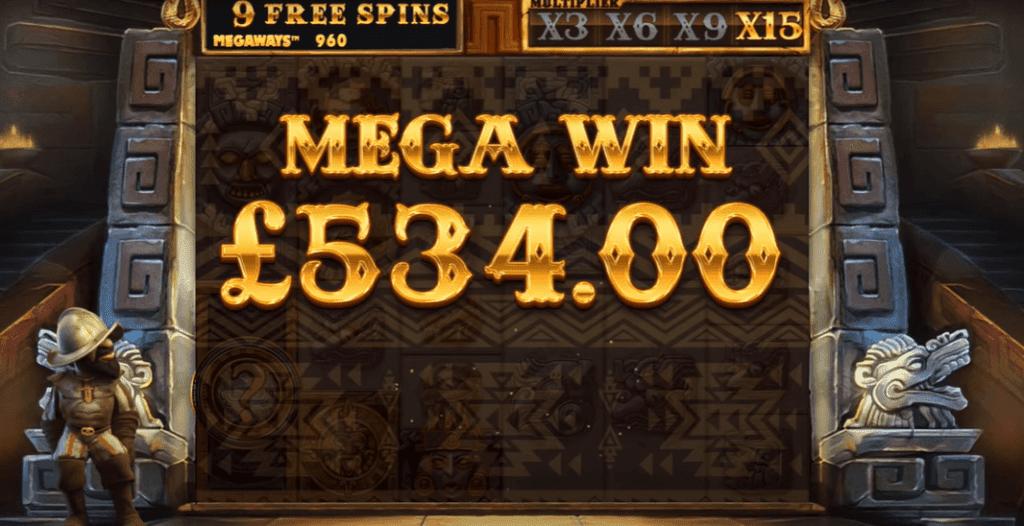 Gonzos Quest Megaways Mega Win
