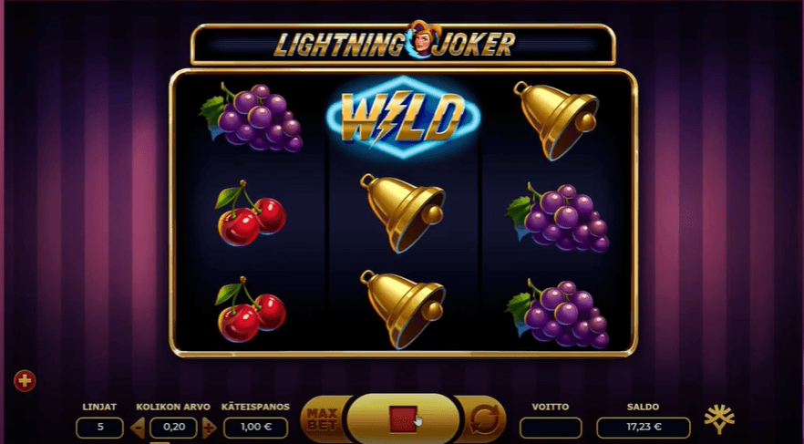 Lightning Joker Slot´s Wild Symbol