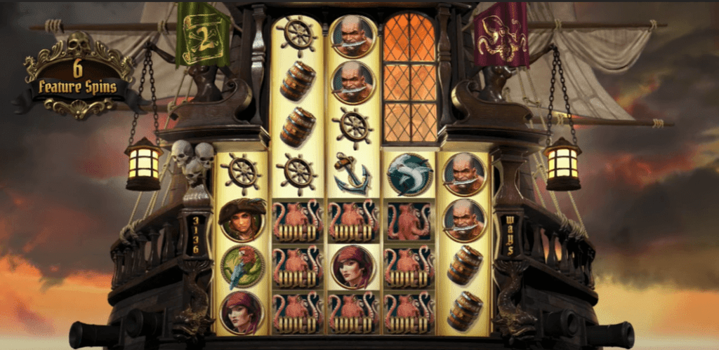 This Is How Rage Of The Seas Slot Looks Like