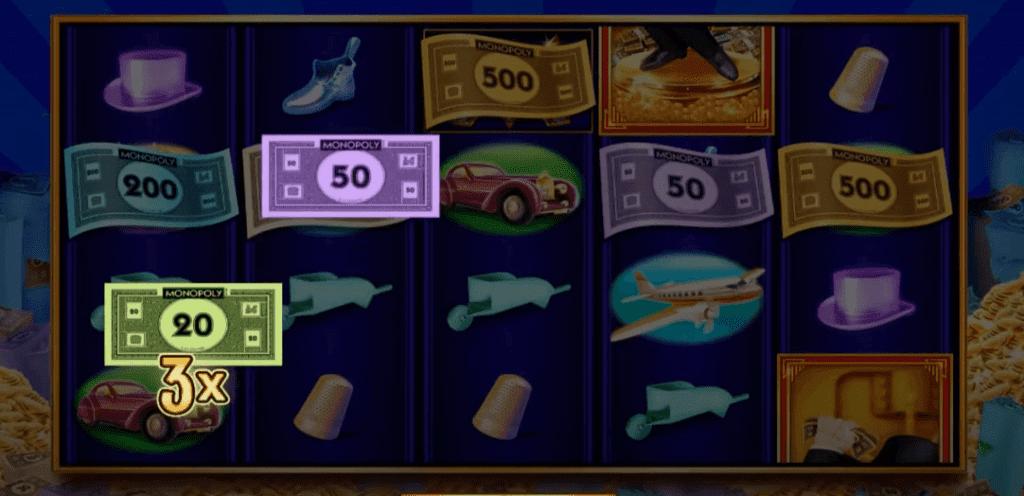 Monopoly Big Money Reel Design