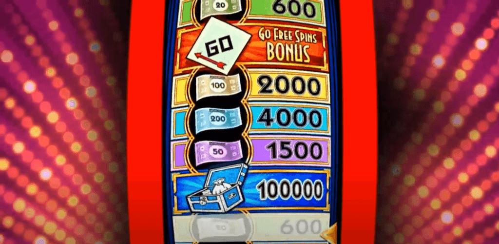 Monopoly Big Money Reel Bonus Game
