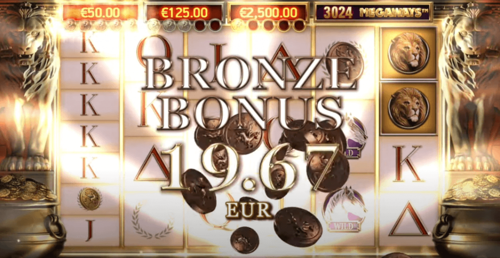 Bronze Bonus In Divine Fortune Megaways