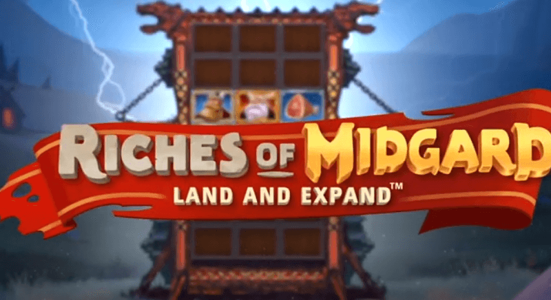NetEnt: Riches of Midgard: Land and Expand review