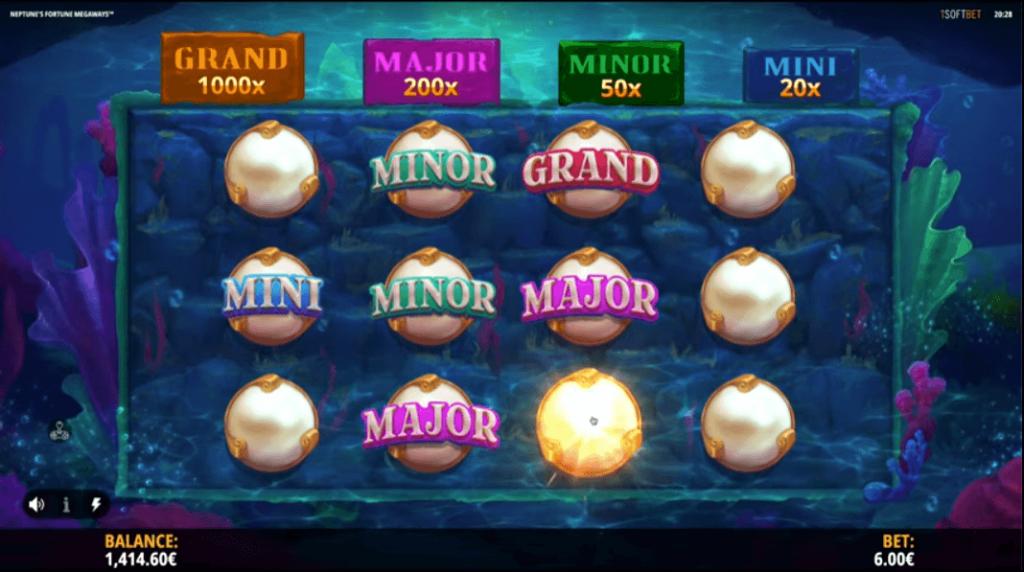 Neptune´s Fortune Megaways Slot Review