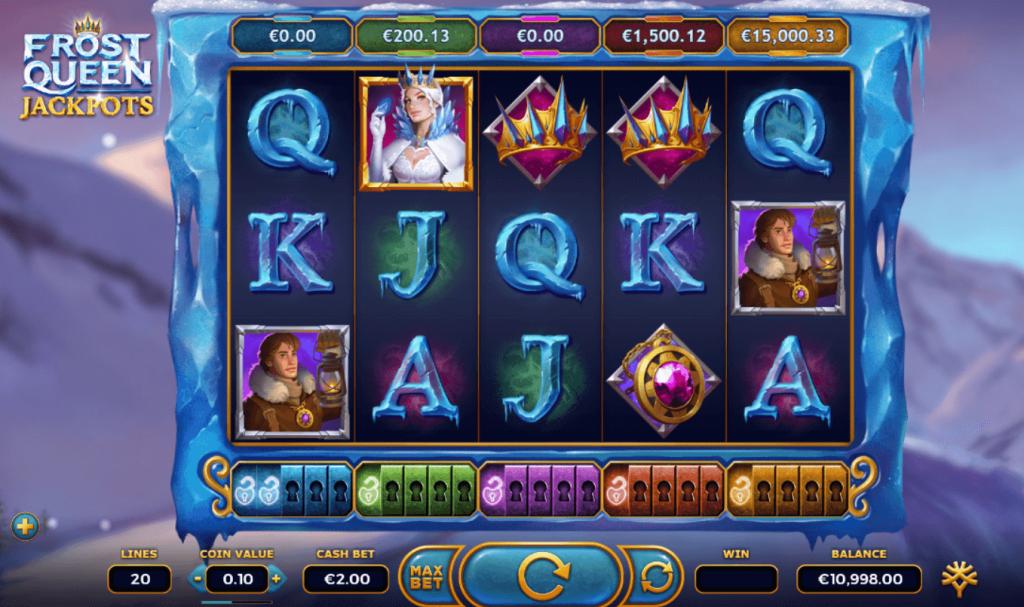 Frost Queen Jackpoits Adalah Slot Terlihat Bagus