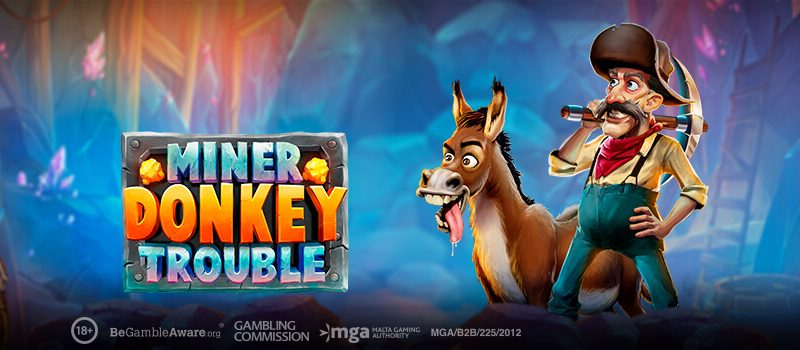 Play ´n GO: Miner Donkey Trouble