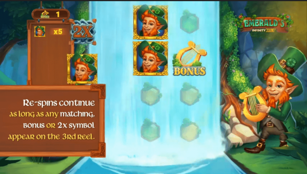 Emeralds Infinity Reels Slot Review