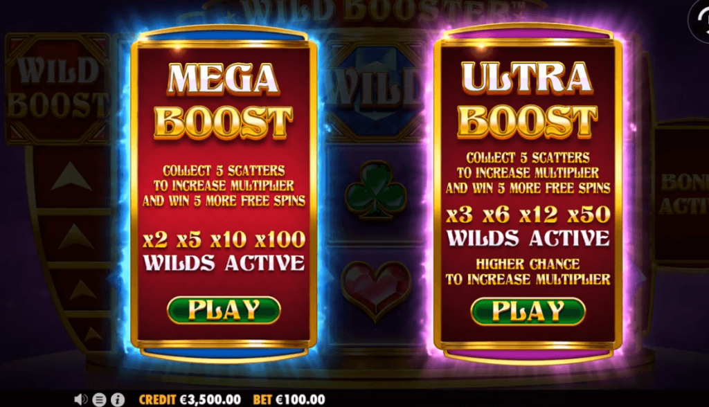 Wild Booster Slot Has An Average RTP