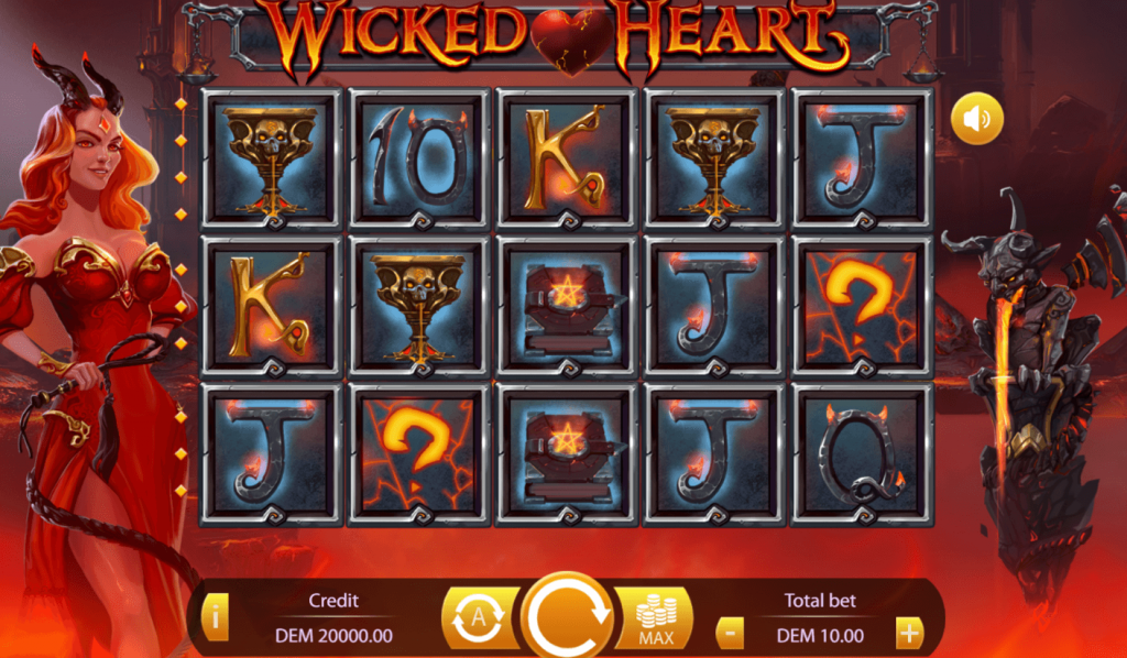 Wicked Heart Slot From Mancala Gaming