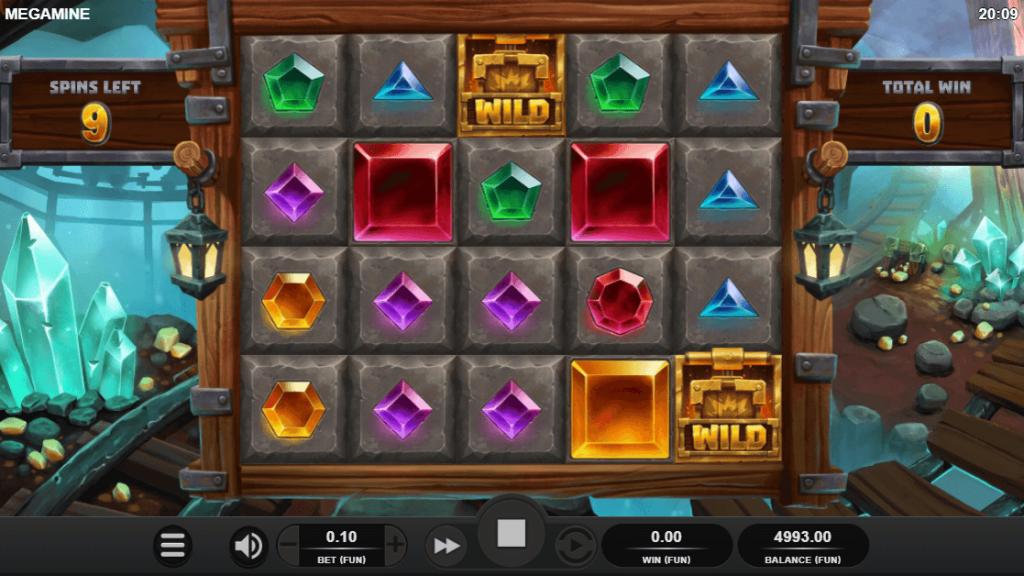 Bonus Putaran Mega Mine Nudging Ways